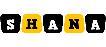 Shana boots logo