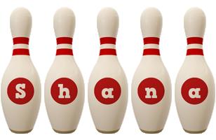 Shana bowling-pin logo
