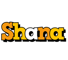 Shana cartoon logo