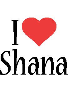 Shana i-love logo