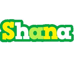 Shana soccer logo