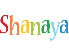 Shanaya birthday logo
