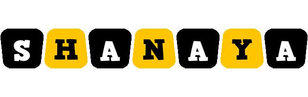 Shanaya boots logo