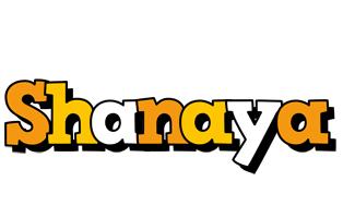 Shanaya cartoon logo
