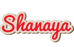 Shanaya chocolate logo