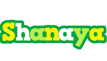 Shanaya soccer logo