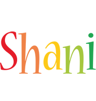 Shani birthday logo