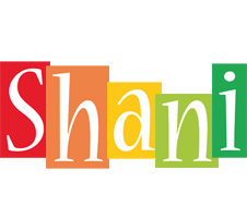 Shani colors logo