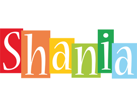 Shania colors logo