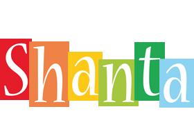 Shanta colors logo