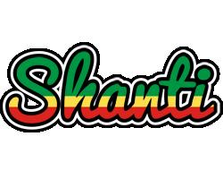 Shanti african logo