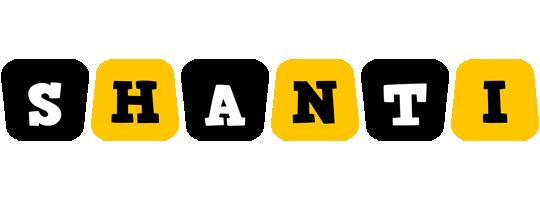 Shanti boots logo