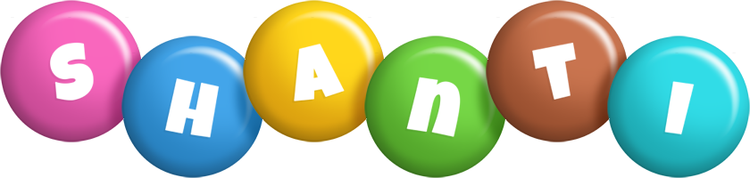 Shanti candy logo