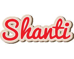 Shanti chocolate logo