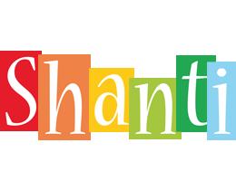 Shanti colors logo