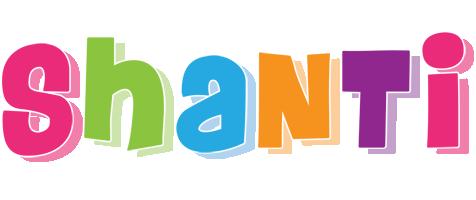 Shanti friday logo