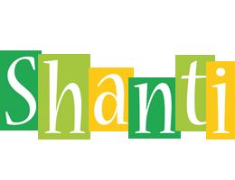 Shanti lemonade logo