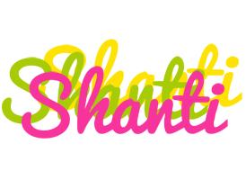 Shanti sweets logo