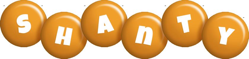 Shanty candy-orange logo