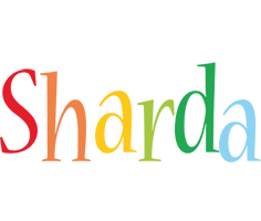 Sharda birthday logo