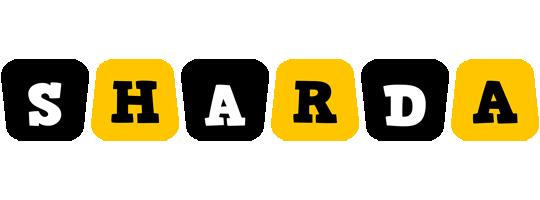 Sharda boots logo