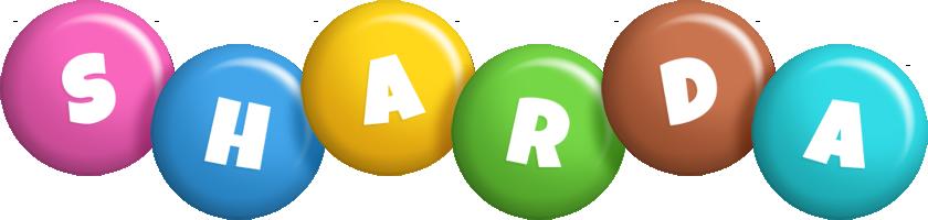 Sharda candy logo