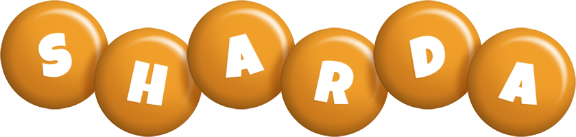 Sharda candy-orange logo