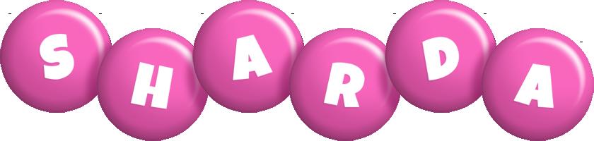 Sharda candy-pink logo