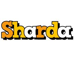 Sharda cartoon logo