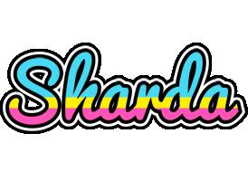 Sharda circus logo