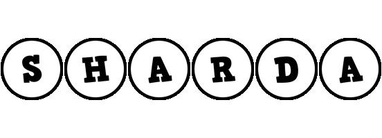 Sharda handy logo