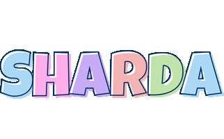 Sharda pastel logo