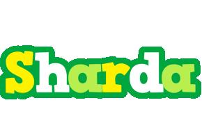 Sharda soccer logo