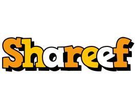 Shareef cartoon logo
