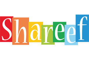 Shareef colors logo