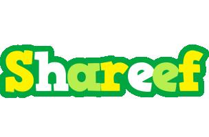 Shareef soccer logo