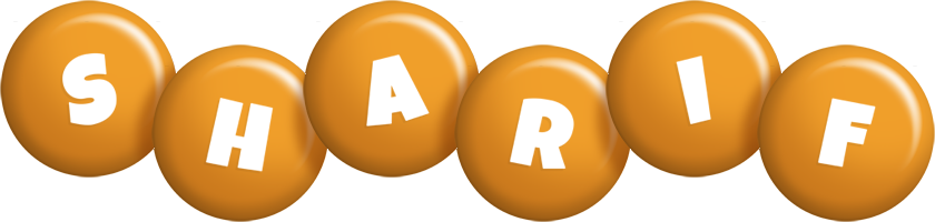 Sharif candy-orange logo