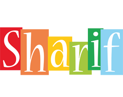Sharif colors logo