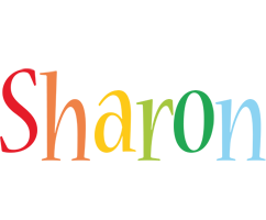 Sharon birthday logo