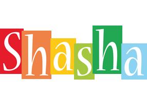 Shasha colors logo