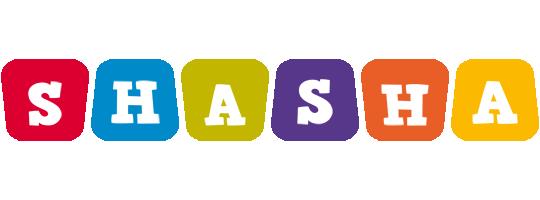 Shasha kiddo logo