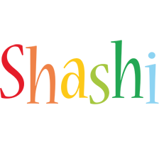 Shashi birthday logo