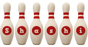 Shashi bowling-pin logo