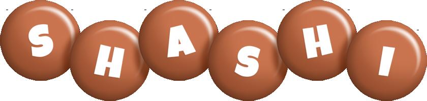 Shashi candy-brown logo