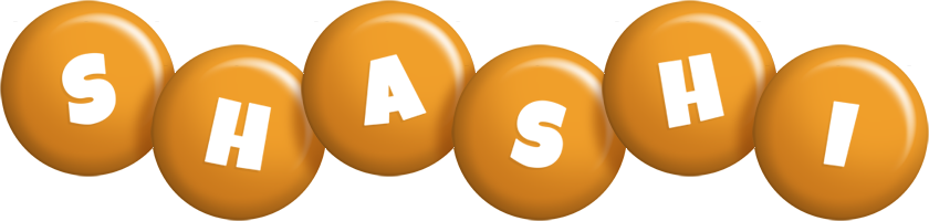 Shashi candy-orange logo