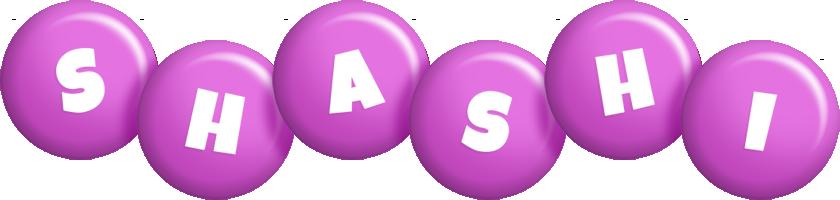 Shashi candy-purple logo