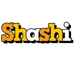 Shashi cartoon logo