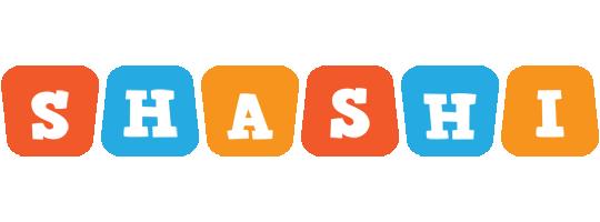 Shashi comics logo