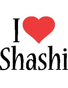 Shashi i-love logo