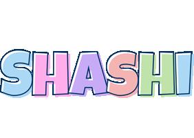 Shashi pastel logo